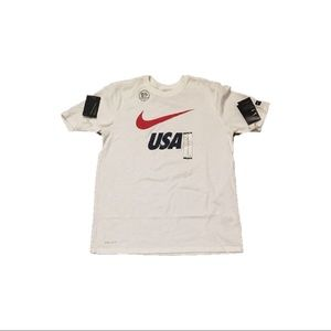 USA Soccer Olympics Nike Men's Shirt Medium